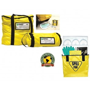 "ENPAC BAG-STYLE SPILL KITS, 8 x 17"" Universal, Absorbs Up To: 5 gals., Fast Pack™ Spill Kit"