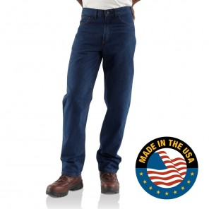 Men's Carhartt Flame-Resistant Relaxed Fit Signature Denim Jean