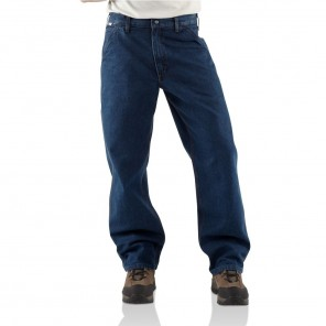 Men's Carhartt Flame-Resistant Signature Denim Dungaree