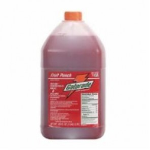 Gatorade® 33977 Sports Drink Mix, 1 gal Bottle, Liquid, 6 gal, Fruit Punch