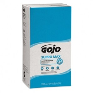 GOJO® 7572-02 SUPRO MAX™ PRO™ TDX™ Hand Cleaner With Walnut Scrubbers, 5000 mL, Dispenser Refill, Lotion, Cherry, Opaque, 2/Case
