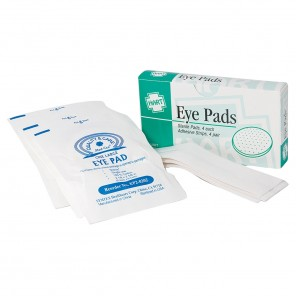 Eye Pads, HART, 0270 with adhesive strips, sterile, 4 per unit