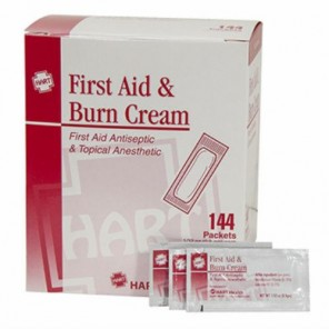 FIRST AID & BURN CREAM 0.9GM  144/BX