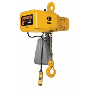 "EXTREME DUTY ELECTRIC CHAIN HOIST, Cap. (Tons): 42739, Std. Lift (ft.): 10', Lift Speed FPM: 36, Pendant Cord (Ft.): 8.2, Min. Headroom: 13.8"", Lifting Speed: Standard"