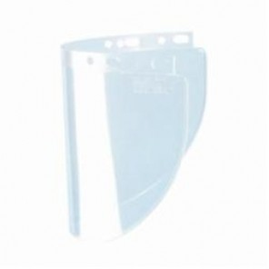 Fibre-Metal® by Honeywell 4178CL Wide Faceshield Window, 8 in H x 16-1/2 in W, Propionate, Clear