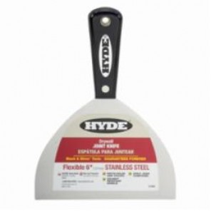 Hyde® 1840 Joint Knife, 6 in W, Stainless Steel Blade, Flexible Blade Flexibility, ASME Specified