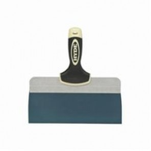 Hyde® Pro Project™ 9233 Extruded Backing Taping Knife, 10 in W, Blue Steel Blade