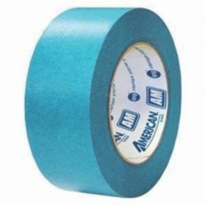 Intertape® AM2455 AquaMask™ Medium Temperature Medium-Grade Masking Tape, 54.8 m L x 24 mm W, 6.6 mil THK, Natural Rubber Resin Adhesive, Medium Crepe Paper Backing