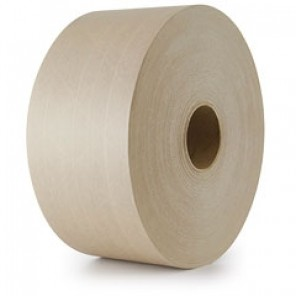 IPG® K8069 - 233 Water Activated (WAT) Kraft Carton Sealing Paper Tape (Gum Tape) 70mm x 450 ft, 10 Rolls/Case