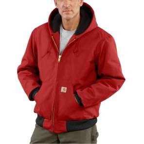 Men's Carhartt Quilted-Flannel-Lined Duck Active Jacket