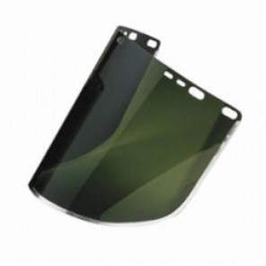 Jackson Safety; 29053 Faceshield Visor, 8 in H x 15-1/2 in W, Medium Green, Acetate/Aluminum Bound