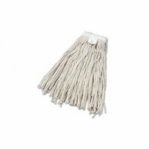BWK2024CCT #24 White Cotton Cut-End Wet Mop Head, Each