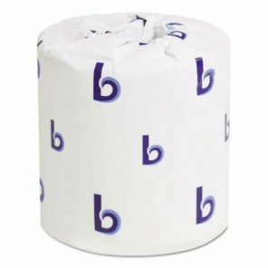 "Two-Ply Toilet Tissue White 4-1/2"" x 3"" sheets, 96 Rolls/case"