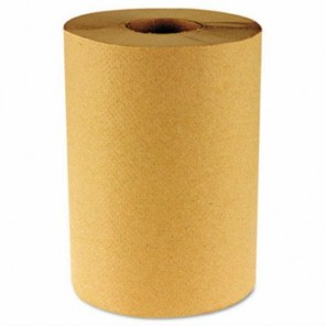 Hardwound Kraft Paper Towel 1 Ply 800' Roll
