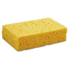"Medium Cellulose Sponge, 3-2/3 x 6-2/25"", 1.55"" Thick, Yellow"