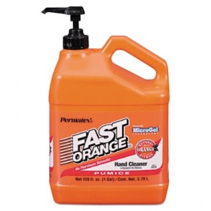 Fast Orange Pumice Hand Cleaner, Citrus Scent, 1 gal Dispenser