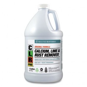 CLR PRO® CL-4PRO Calcium, Lime, and Rust Remover, 1 Gal Bottle, 4 Per Case