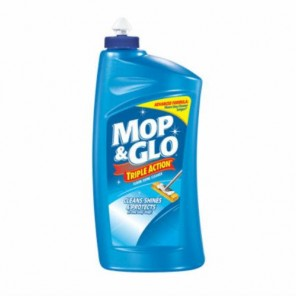 Mop & Glo Floor Cleaner, Fresh Citrus Scent, 64 Oz Bottles, 6/Carton