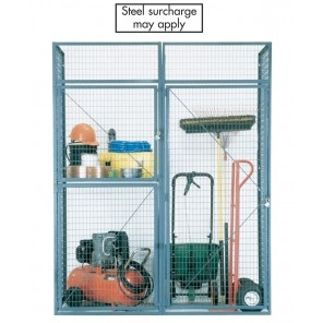 BULK STORAGE LOCKERS, No. of Tiers: Double, Starter unit, Door W' x D': 3 x 5', Crating Charges: Crating charges will be added