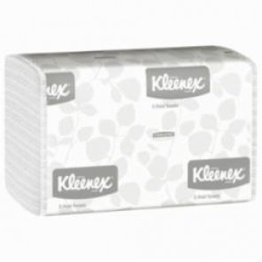 Kleenex® 01500 C-Fold Folded Towel, 13.15 in L x 10-1/8 in W, Paper, White