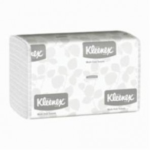 Kleenex® 01890 Multi-Fold Paper Towel, 9.4 in L, Paper, White