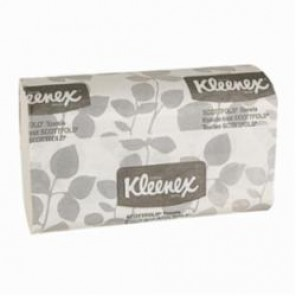 Kleenex® 13253 Multi-Fold Towel, 50% Recycled Fiber, White