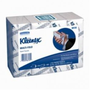 Kleenex® 88130 Multi-Fold Towel, 50% Recycled Fiber, White