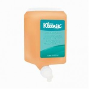 Kleenex® 91557 Hair and Body Wash, 1 L, Cassette Packing, Gel, Pleasant/Citrus, Yellow