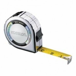 Komelon® 535C Tape Measure, 1 in W x 35 ft L Blade, Nylon Coated Steel