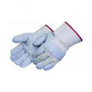 Select shoulder split leather palm glove with Gunn pattern and cotton palm lining