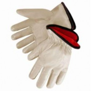 Quality Grain Fleece Lined Drivers Gloves, Leather