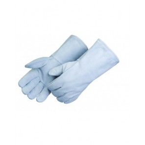 Liberty Glove E7270/LHO Grey Leather Welding Glove -Left Hand Only, Sold By Each = 1 Glove