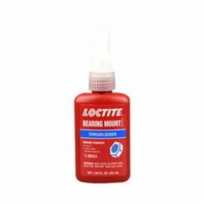 Loctite® 08531 Medium Strength Threadlocker, 50 mL Bottle, Liquid, Yellow, 1.066