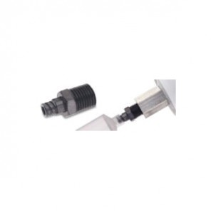 Loctite® 1044247 Cartridge Syringe Adapter, 1/4 MNPT x Female Luer, For Use With 1/4 in Fischbach