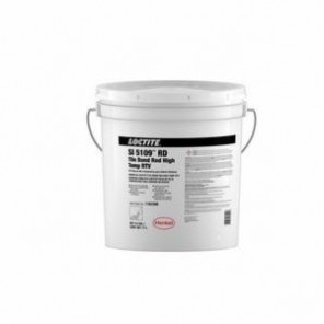 Loctite® 1162399 High Temperature RTV Silicone Adhesive Sealant, 4.5 gal Pail, Paste, Red, 1.01