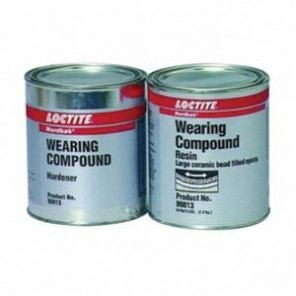 Loctite® Nordbak® 1324571 2-Part Combo Bead Wearing Compound, 6 lb, Part A: Gritty/Paste, Part B: Liquid/Paste