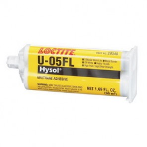 Loctite® 29348 High Strength Two-Part Urethane Structural Adhesive, 50 ml Dual Cartridge, Liquid, Off-White, 1.1