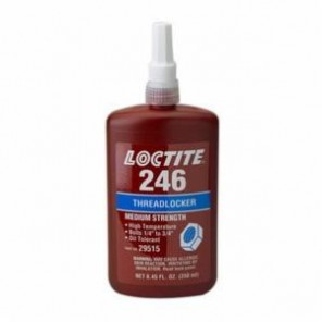Loctite® 29515 1-Part Medium Strength Threadlocker, 250 mL Bottle, Liquid, Blue, 1.1