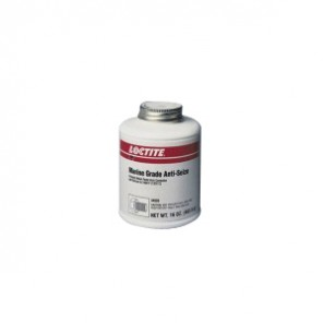 Loctite® 34395 1-Part Marine Grade Anti-Seize Lubricant, 8 oz Brushtop Can, Paste, Black, 1.2648