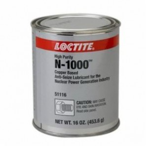 Loctite® 51116 1-Part High Purity Anti-Seize Lubricant, 1 lb Can, Viscous Liquid, Copper, 1.2331