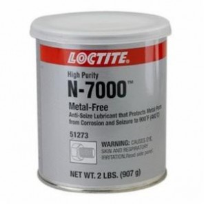 Loctite® 51273 1-Part High Performance High Purity Anti-Seize Lubricant, 2 lb Can, Paste, Gray, 1.1687
