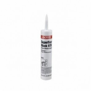 Loctite® Superflex® 59375 RTV Silicone Adhesive Sealant, 300 mL Cartridge, Paste, Black, 1.01