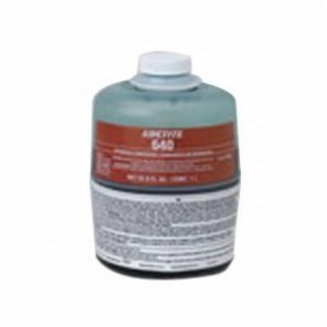 Loctite® 64043 1-Part High Strength Retaining Compound, 1 lb Brushtop Can, Liquid, Green, 1.12
