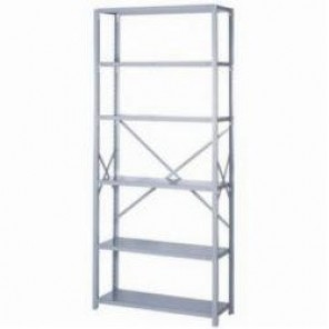 LYON® 8041SH Heavy Duty Starter Open Shelving Section, 6 Shelves, 84 in H x 36 in W x 18 in D, 900 lb Shelf