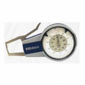 Mitutoyo Series 209 External Dial Caliper Gage 0, 0 to 2 in, Graduation 0.0002 in, 0.09 in W x 0.31 in D