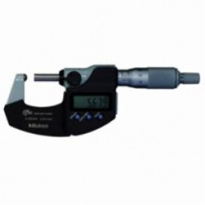 Mitutoyo 395 Metric Tube Micrometer, 50 to 75 mm, Digital/LCD, Satin Chrome