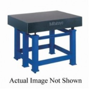 Mitutoyo 517 Inch Surface Plate, 12 in H x 60 in W x 60 in D Surface, A Inspection Grade, Machine Base Gray