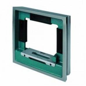 Mitutoyo Series 960 Square Precision Level, 200 mm W x 200 mm H, 140 deg Vial Positions, 0.006 mm