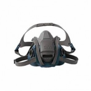 3M™ 6501QL Probed Reusable Half Facepiece Respirator With Cool Flow™ Exhalation Valve, S, Polyester/Spandex®