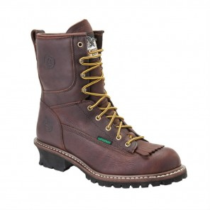 Men's Georgia Boot Waterproof Logger Boot